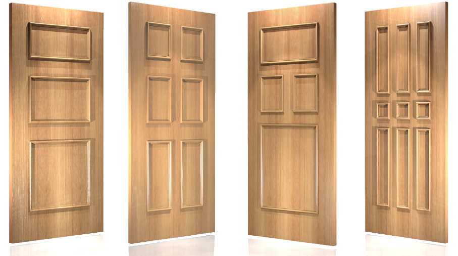 Special Applied  Door Molding Configuration