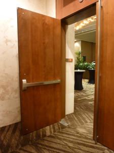 Coral Ballroom Doors